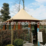 Casa de jardín Casa de campaña grande Gazebo al aire libre tienda Teepee Glamping