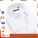 Do algodão do Mens da luva camisa 100% de vestido longa formal