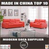 Sofa sectionnel en cuir italien blanc moderne à Foshan