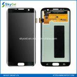 Affichage à cristaux liquides de téléphone mobile d'affichage à cristaux liquides de téléphone cellulaire pour le bord de Samsung S7