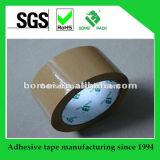 Cartón impermeable que sella la cinta del embalaje de Brown oscuro