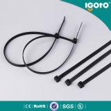 Serre-câble Nylon66 noir de vente chaud des prix bon marché de qualité