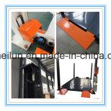 Elevador simples hidráulico do estacionamento de quatro bornes