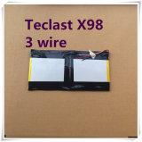 Воздух 3G P98 3G батареи лития 9000mAh полимера 3.7V Teclast X98, качество провода батареи 3 PC таблетки Chuwi V99I совершенное