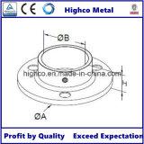 Base della flangia del corrimano dell'acciaio inossidabile per il tubo dell'inferriata 42.4mm