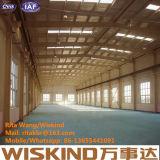 Fábrica de la estructura de acero de la luz del almacén del taller del bajo costo de Preb