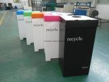 Rectángulo reciclable de Corflute del polipropileno del rectángulo de la basura/rectángulo plegable