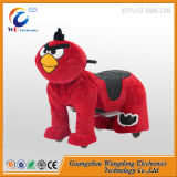 Giro elettrico popolare sui giocattoli della peluche degli animali da vendere