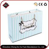Bolso de empaquetado de Customzied de la insignia de imprenta del papel de las compras portables del regalo