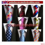 Relation étroite de cravate de relations étroites d'hommes Wedding le cadeau en soie maigre de Noël tissé par jacquard classique (B8036)