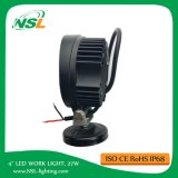 LED Work Light 4 Inch 27W 2295lm LED Work Light for Trucks Forklift Cars Working Use Lighting