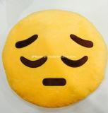 Подушка Emoji взволнованности с мягкой тканью плюша