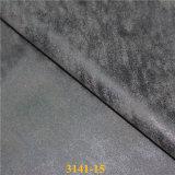 Кожа сырья PU облака синтетическая для тканей обуви