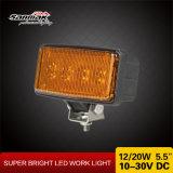 Lumière de travail en aluminium Lampe de travail à l'agriculture hors route à LED de 20,5 '' 20 '' '