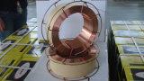 Fio de soldadura protegido Er70s-6 do CO2 do fabricante da soldadura de MIG gás consumível