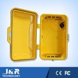 Interpréteur de commandes interactif en aluminium de téléphone, interpréteur de commandes interactif industriel de téléphone, interpréteur de commandes interactif résistant de temps de télécommunication