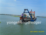 Cutter portable Suction Dredger con Water Flow 500m3/H