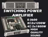 2x1200W Switching Power Amplifier (E Series)
