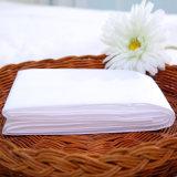Draps blancs d'hôtel, drap ajusté remplaçable, hôtel remplaçable de draps