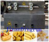 Machine centrale d'extrudeuse de casse-croûte d'encombrement