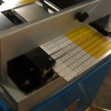 Imprimante automatique de garniture de 4 couleurs pour plier la grille de tabulation en bois