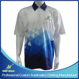 Camisa de polo superior de la escuela Custom Designed Full Sublimation Company