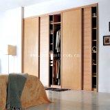 PVC прокатывает цвет пленки деревянный для панели двери
