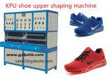 La PU se divierte los zapatos que hacen los zapatos de la máquina la máquina que forma superficial