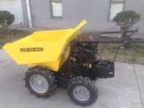 Mini camion de dumper de brouette de pouvoir de dumper de construction By350
