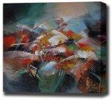Pintura al óleo abstracta (47)