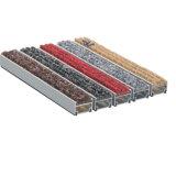 De de antislip Matten van de Ingang van het Aluminium en Mat van het Tapijt