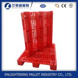 1200X1000mm Heavy Duty Open Deck Rack 1ton Plastic Pallet para venda