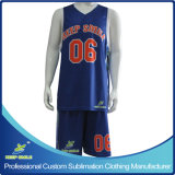 De droog-geschikte Uniformen van het Basketbal van de Premie van de Druk van de Sublimatie van de Douane Volledige