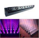 8*10W RGBW preiswerte LED bewegliche helle helle Bars/LED bewegliche Haupthauptwäsche des Stadiums-Light/LED