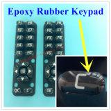 Botão personalizado de borracha de silicone de elastômero para controle remoto