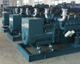 Doosanエンジン65kw 81kVAトロリーが付いているディーゼルGenerationgの発電機