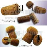 Cork van de wijn/de Aandrijving van de Flits van de Kurk USB van de Wijn (ci-US602)