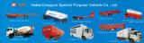 반 55cbm Hubei Dongrun 상표에 의하여 대량 시멘트 유조 트럭 트레일러