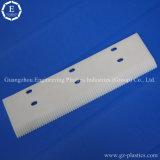 Estante de engranaje recto modificado para requisitos particulares OEM del CNC del plástico POM del diseño del piñón/engranaje del estante de Delrin