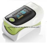 Oxímetro del pulso de la yema del dedo del equipamiento médico de cinco colores
