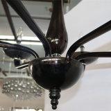 型のホテルの装飾的で黒いガラスCandelabraのシャンデリア