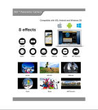 4k 360° WiFi Sport-Vorgang der Minikamera-panoramischer Kamera-2448*2448 16m ultra HD 3D, der Vr Kamera fährt