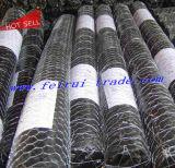 Schwarzes Vinylüberzogene Geflügel-Filetarbeit/sechseckige Draht-Filetarbeit