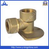 Métal en laiton Foring pour l'ajustage de précision en laiton de connexion (YD-6025)