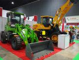 ジョイスティックが付いている展覧会2200kgの小さいローダーの新しいモデル