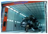 航空機のスプレー・ブース