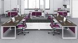 新しいモジュラー区分4人の工作台のオフィスワークステーション(SZ-WST842)