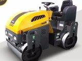 Conduite de compacteur sur des rouleaux de vibration