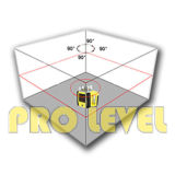 Agricultura giratória do nível FRE102B do laser