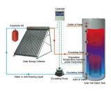 Chauffe-eau solaire de tube électronique pressurisé par fractionnement avec Keymark solaire